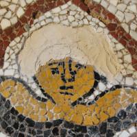 09 - Fase della realizzazione del mosaico