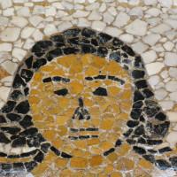 17 - Termine del mosaico prima della stuccatura