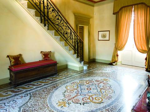 Battuto alla veneziana con decorazione genovese Venaria Reale