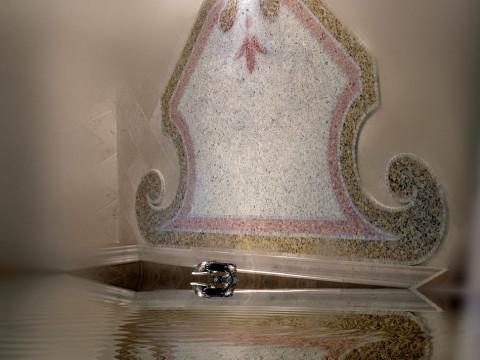Decorazione murale in graniglia per stanza da bagno lusso