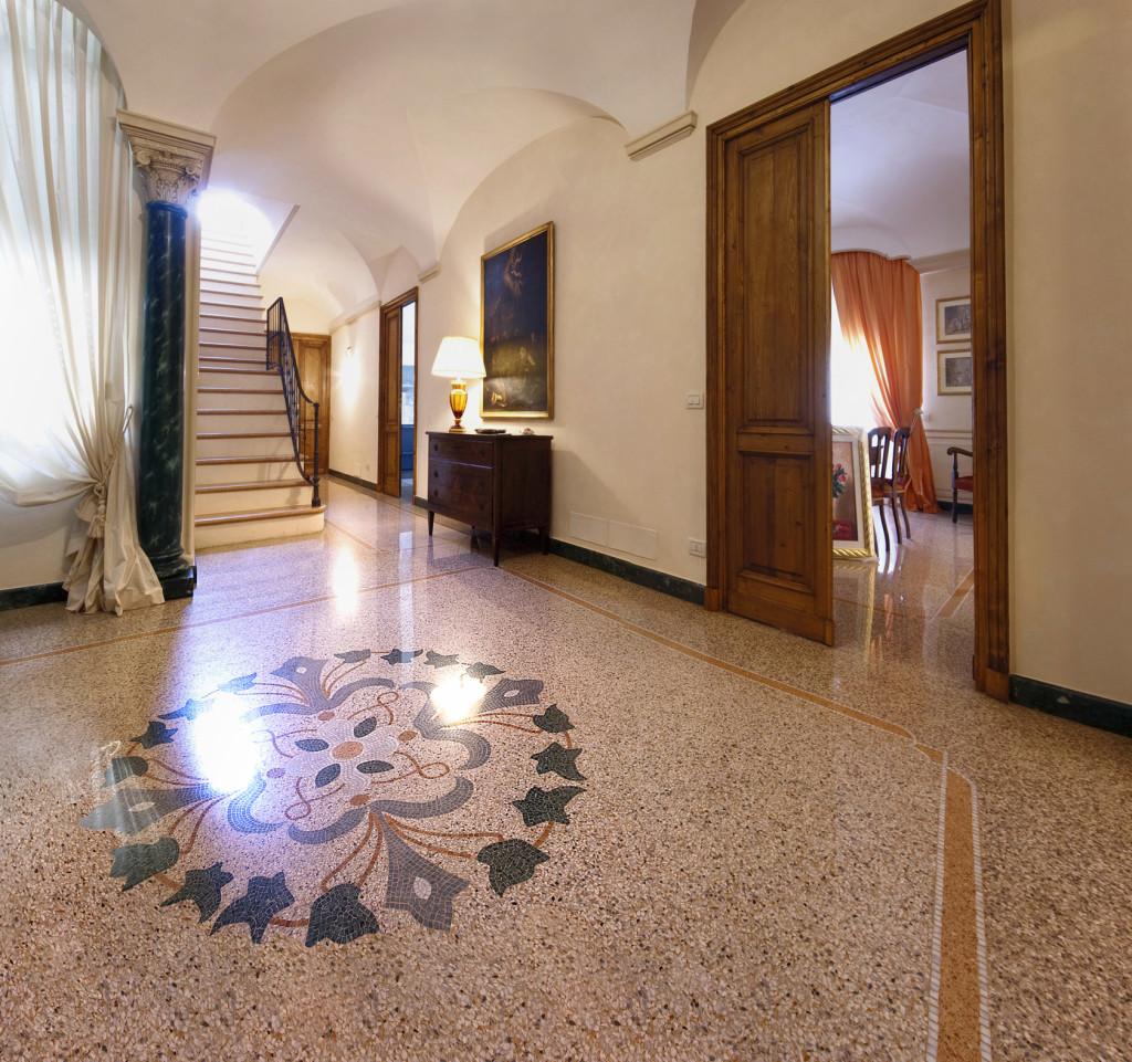 Vigo Mosaici  Pavimentazione in graniglia di marmo alla genovese