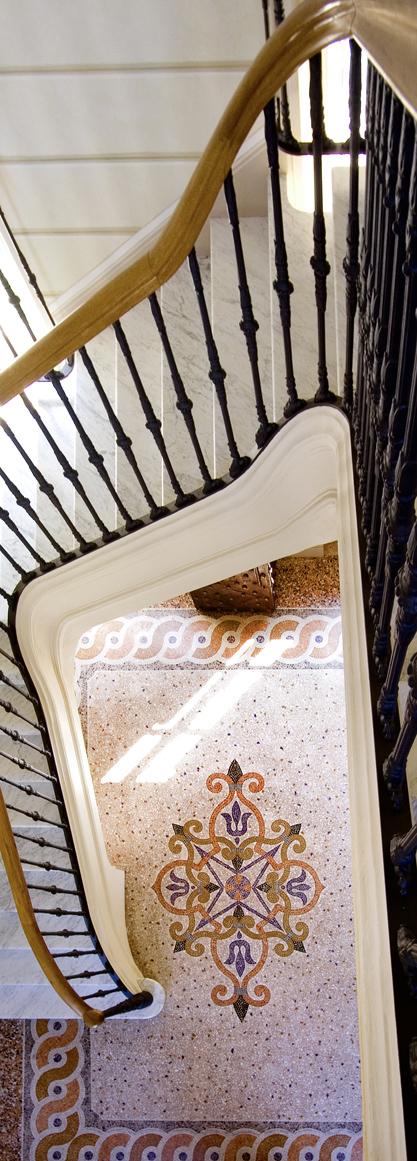 terrazzo alla veneziana Venaria Reale Torino