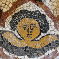 10 - Termine del mosaico prima della stuccatura