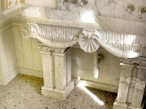 Venetian style flooring in Turin