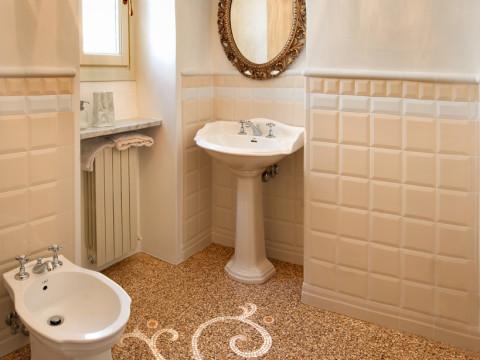 Genoa style marble grit floorings