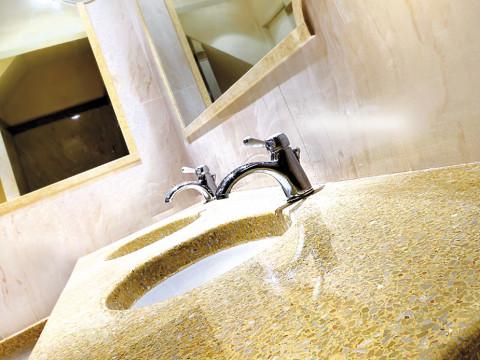 Piano lavello in graniglia alla veneziana